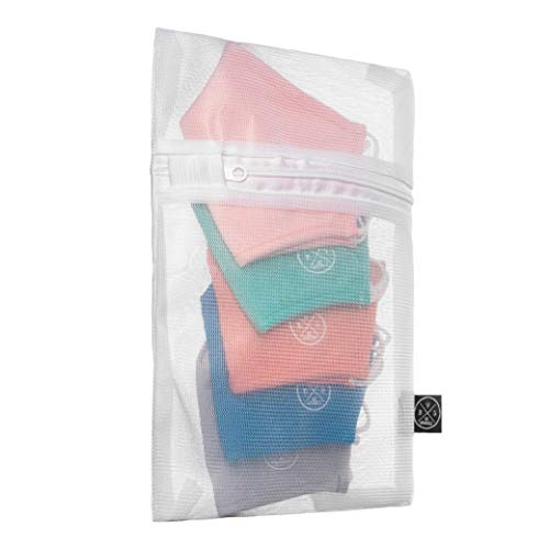 Be Sparkle Small Laundry Bags for Delicates, Bags to Wash Face Masks ,Delicate Clothes, Hosiery, Stocking, Underwear, Bra Lingerie and travel bag
