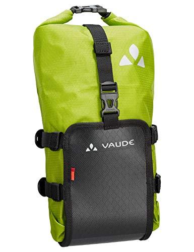 VAUDE Trailmulti Funda, Unisex-Adultos, Black/Green, 15 cm