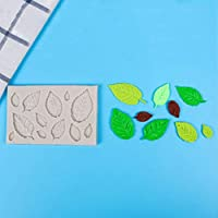 SXHNNYJ 3D樹脂粘土の木カエデの葉型シリコーンチョコレートベーキング型ファッジケーキデコレーションツール自家製耐熱皿ケーキ型