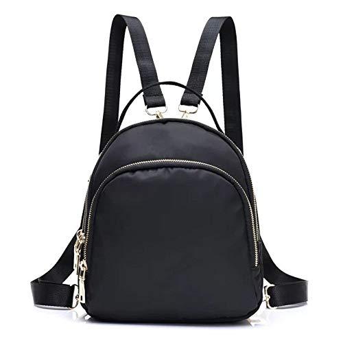 HOSD Nylon Waterproof Handbag Fashion Shoulder Bag Oxford Cloth Casual Multi-Functional Student Backpack