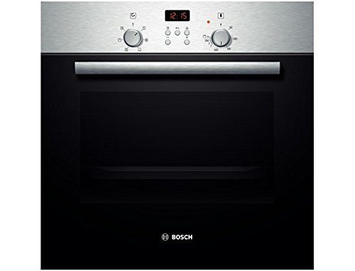 Bosch HBN331E4J - ovens (Built-in, Electric, A-20%, Stainless steel, Buttons, Rotary, Top front)