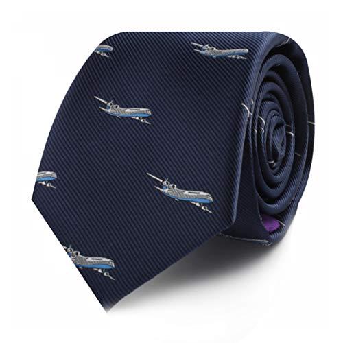 Premium Woven Plane Necktie