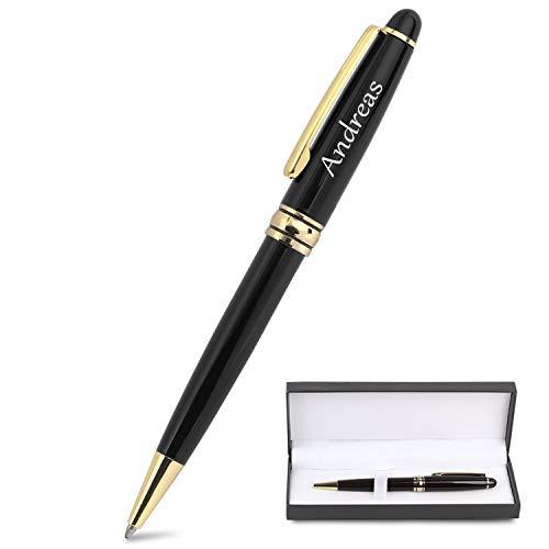 Bolígrafo de regalo personalizado, bolígrafo de grabado personalizado, bolígrafos personalizados para negocios, fiestas, celebraciones en tiendas, viajes de negocios
