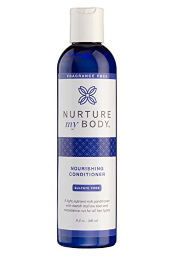 Nurture My Body All-Natural Everyday Conditioner, Fragrance Free, 8 fl oz. - Certified Organic...