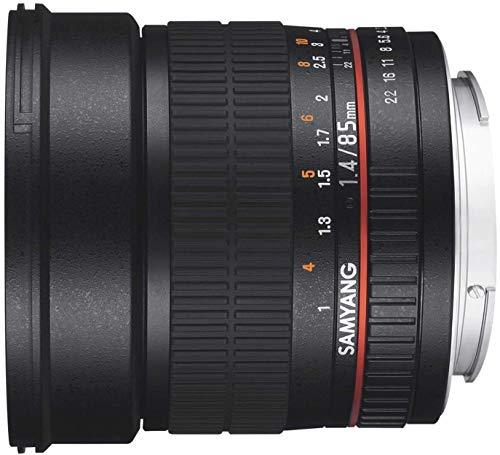 SAMYANG単焦点レンズ85mmF1.4キヤノンEF用フルサイズ対応
