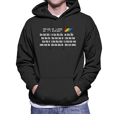 Men's ZX Spectrum Always Use A Rubber Hoodie