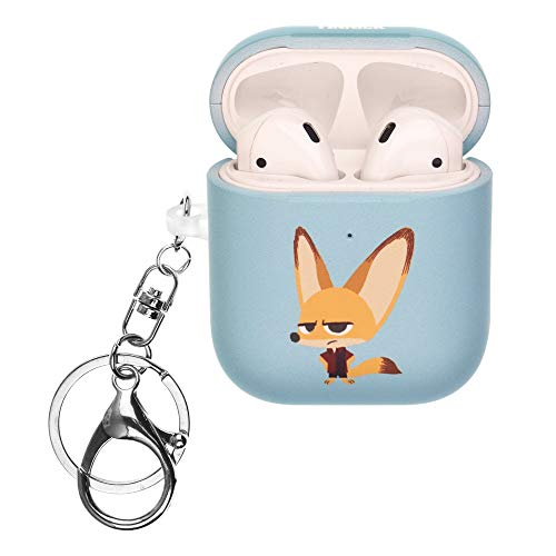 Zootopia Compatible with AirPods Case Key Ring...