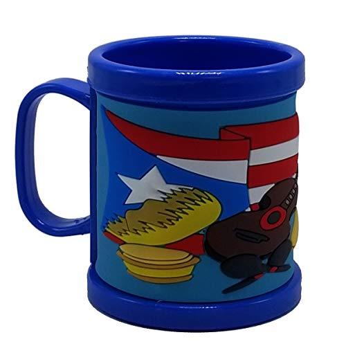 Puerto Rico Coffee Mug Instrument & Flag