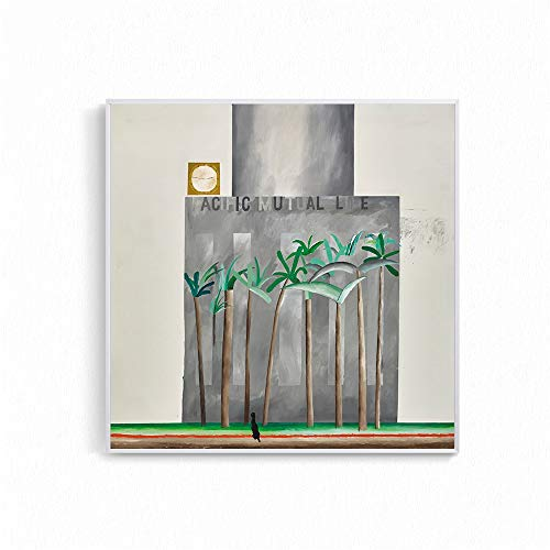 Moderne landschapsstijl foto's voor de woonkamer David Hockney Garrowby Hill Canvas Schilderij Home Decor Wandposters 70x70cm