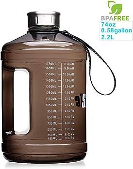 Sluxke 1 Gallon Fitness Sports Water Bottle