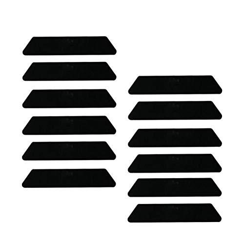 Boden Teppich Mat Greifer Teppich-Matten-Nicht Beleg Anti Curling Grip Matten-Auflage for Haus Wohnzimmer Schlafzimmer (Color : White, Specification : 4PCS)