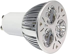 LemonBest 箘 6W Led Gu10 Base Flood 6000K 45 Degree Beam Angle Gu10 Led Bulb Light
