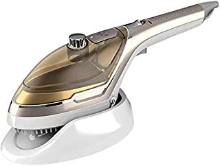 WMM Portable Steamer for Clothes,Handheld Garment Steamer,Used for Wrinkle Removal of Clothes, Rapid Heating, Light Travel, Home and Office,Brown