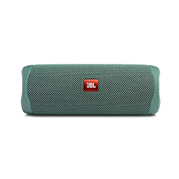 JBL FLIP 5 Waterproof Portable Bluetooth Speaker Made From 100% Recycled Plastic - Green  Renewed