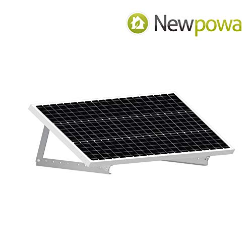 Newpowa Adjustable Solar Panel tilt Mount Bracket kit 20inch Width