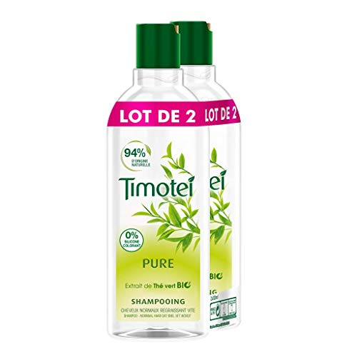 Timotei Shampoing Pure 300ml - Lot de 2
