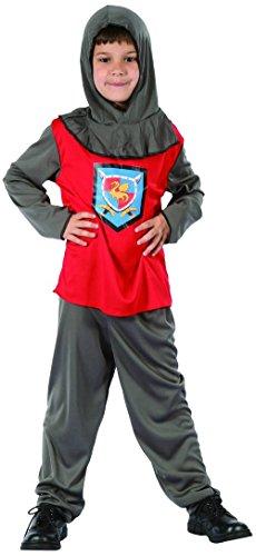 Costume cavaliere bambino 4/6 anni (104/116)
