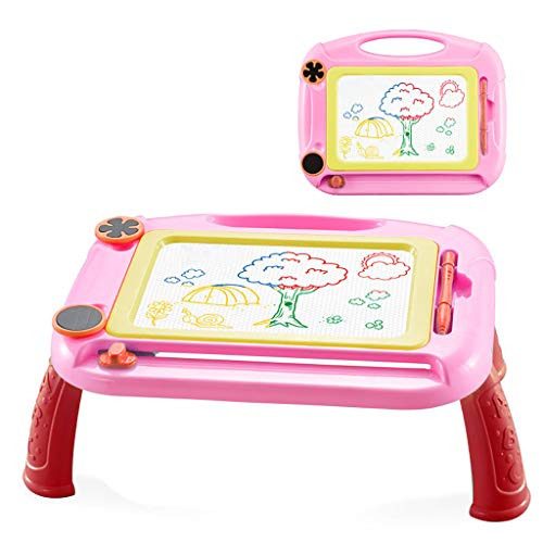 Fine Kids Magnetic Drawing Board with Holder,Great for Writing, Painting,...