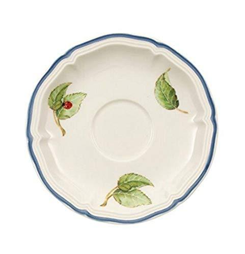Villeroy & Boch Cottage Plato para taza de expreso, 12 cm, Porcelana Premium, Colorido