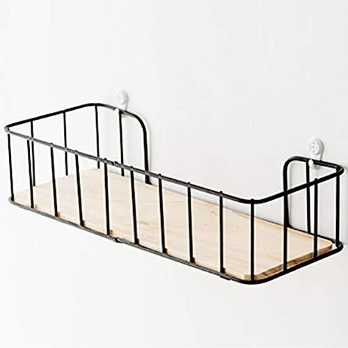 Ritapreaty wandgemonteerde partitie plank, innovatieve muur opknoping ijzeren mandje, opslag Rack Punch-vrij Rack