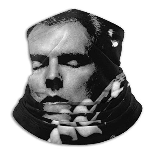 Van Morrison 02 Unisex nahtloser Windstaub, rutschfest, warm, Nackenschutz