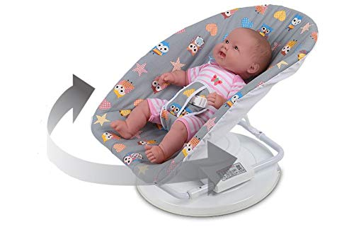 Sale!! Tomy Deco Baby Auto Turning Bouncer White