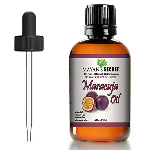 Passion Fruit Seed oil/Maracuja Oil 100% Pure/Natural/Cold Pressed/Undiluted.