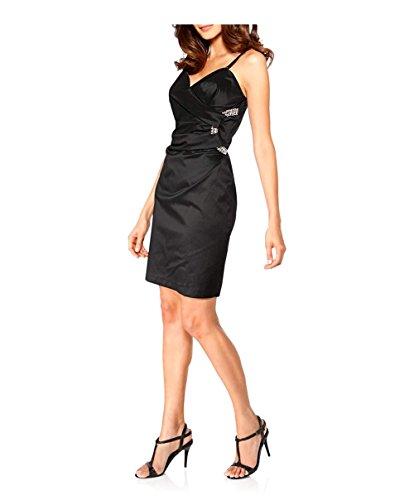 Ashley Brooke event Damen-Kleid Cocktailkleid Schwarz Größe 38