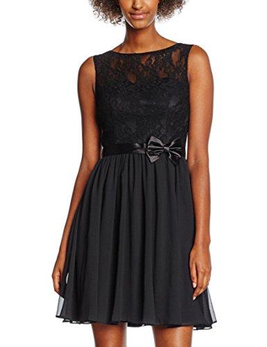 Laona Damen Kleid LA41723, Schwarz(Jet Black), 38 (Herstellergröße: M)