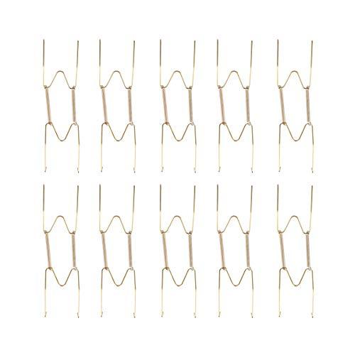 Juego de 6 Soportes de Pared para Platos Decorativos con 6 Ganchos de pl/ástico para Colgar en la Pared 20 cm PERFETSEL Perfeetsell