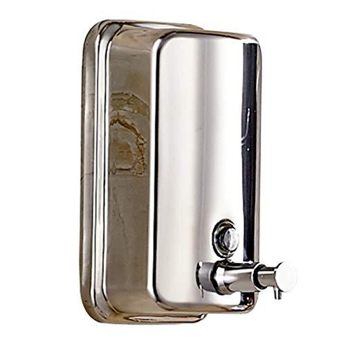 YIXIN2013SHOP Dispensador de jabón Dispensador de jabón Manual Fregadero y baño de Cocina de Acero Inoxidable rellenables 1000ml Dispensador de jabón encimeras