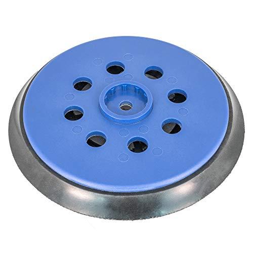 Schleifteller 150mm Klett für Bosch GEX 150 AC, GEX 150 Turbo Professional, GEX 125-150 AVE - Multi-Loch (35-Loch) - mittelhart, hart - DFS