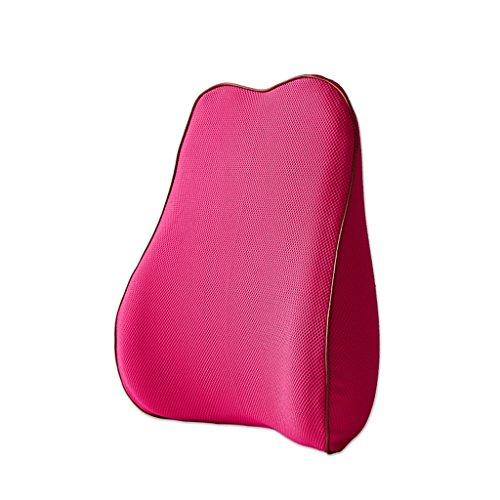 HAIYINGbeidian HAIYING Lumbar ondersteuning rugkussen met 3D Mesh Cover Memory Foam onderrug ondersteuning kussen voor uw huis, bureaustoel, en auto