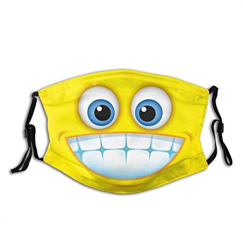 pumpkin pie Nettes Lächeln, zahniges Smiley-Gesicht Illustration Personalisierter Mundschutz Wiederverwendbarer Mundschutz (Give Five Mouth Guard)
