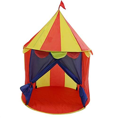 B Blesiya Tragbar Spielzelt Spielhaus Kinderzelt Zelt Spielzeug mit Mongolei Stil, Geschenk für Kinder