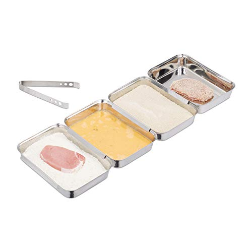 stainless steel breading tray - 3