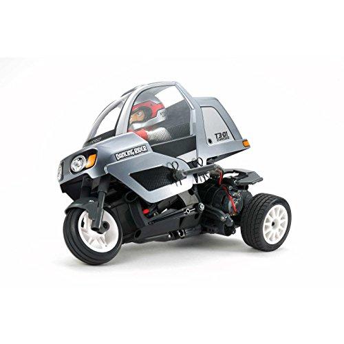TAMIYA 57405 - 1:8 RC Dancing Rider Trike T3-01, ferngesteuertes Auto/ Fahrzeug, Modellbau, Bausatz, Hobby, Basteln, Modell, Zusammenbauen