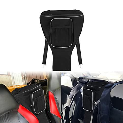 Accesorios de decoración de coches Bolsa de almacenamiento de la bolsa de almacenamiento de la bolsa de almacenamiento del centro de la cabina de la cabina de la cabina de la cabina de la cremallera a