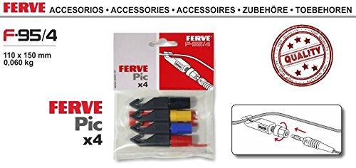 FERVE F-95/4 Cargadores y arrancadores