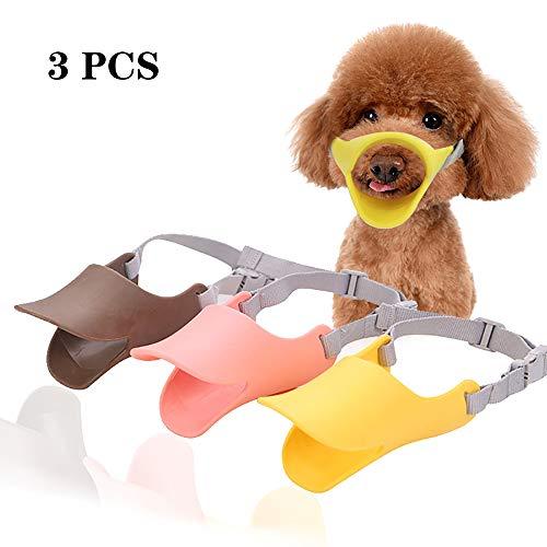 XG-BH Entenschnabel-Mundschutz Für Hund, Mundschutz, Bissschutz/Maulkorb, Bissfest, Für Kleine Hunde,S