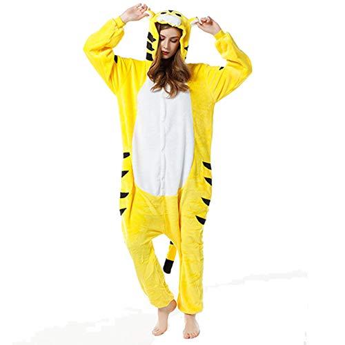 DONGBALA Unisex Erwachsene Tier Nachtwäsche, Flanell Anime Cartoon-Pyjamas, für...