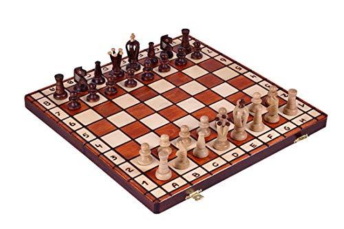 KADAX - Schach in Braun, Größe 36 x 18 x 4 cm
