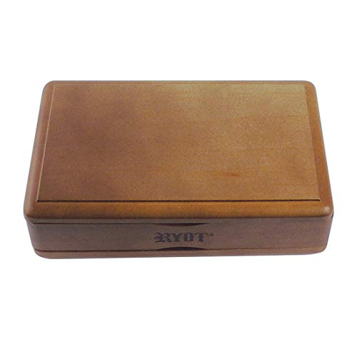 """RYOT 4x7"""" Solid Top Box in Walnut