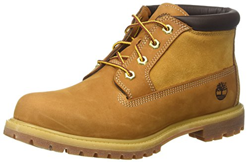 Timberland Damen Nellie Leather Suede Chukka Boots, Gelb (Wheat), 40 EU