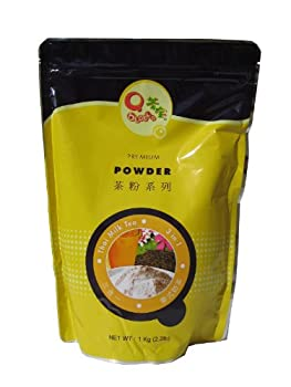 Qbubble Thai Tea Flavor  3 in 1  Bubble Tea Powder - 2.2 Lb