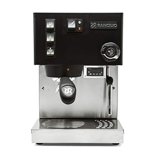 Rancilio Silvia Semi-Automatic Espresso Machine w/PID Controller Installed (Black)