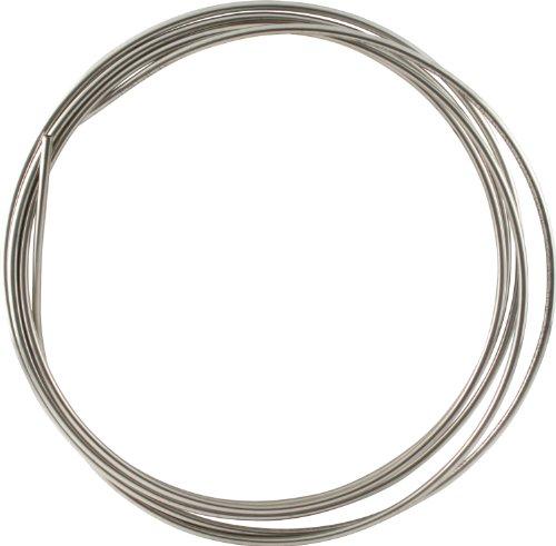 Allstar ALL48320 20' 5/16' Diameter 304 Stainless Steel Coiled Tubing Fuel Line