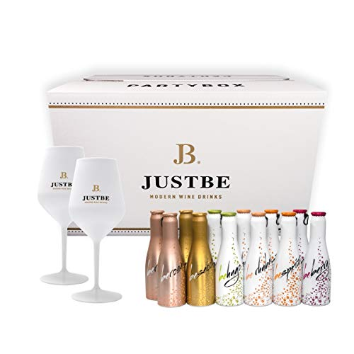 JUST BE Geschenke-Set Wein-Cocktail Party-Box (S)