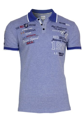 Redbridge Polo Shirt Party Club, Größe:M;Farbe:Blue