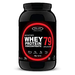 Sinew Nutrition Instantised Raw & Real Whey Protein - Best Unflavored Whey Protein In India